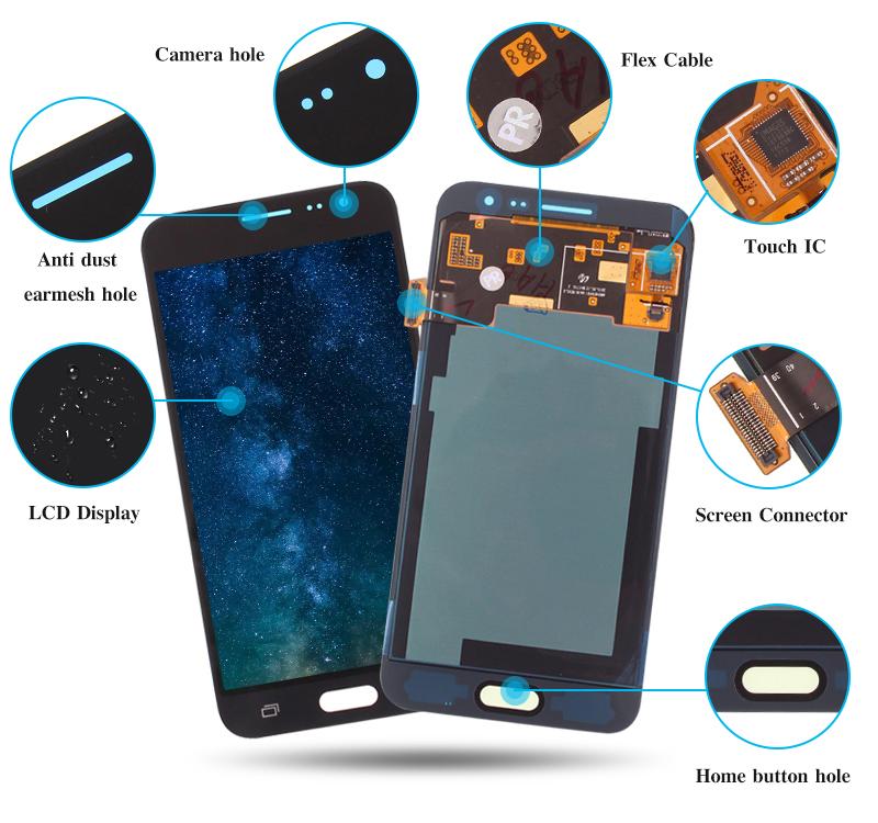 Samsung Mobile Parts Wholesale, Samsung J3 LCD Display   Yezone